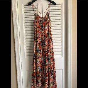 Free People Floral Midi/ Maxi Dress